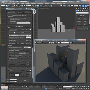 3ds Max ile Mental Ray Render Ayarları Video Eğitimi