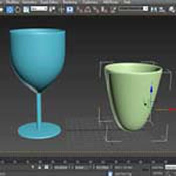 3ds Max Kesit ile Modelleme Video Eğitimi