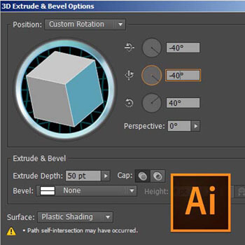 Adobe Illustrator 3D Özellikleri Video Eğitimi