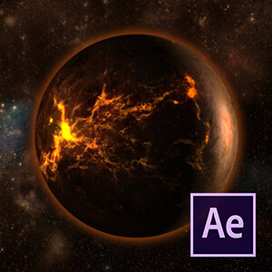After Effects ile Gezegen Patlama Efekti Video Eğitimi