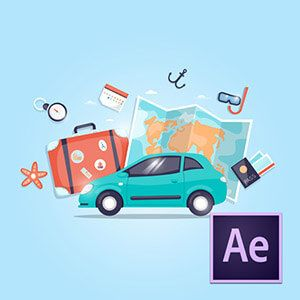 After Effects ile 2D Animasyonlar Oluşturmak Video Eğitimi