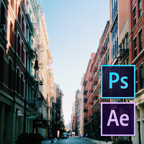 After Effects ile Photoshop Özelliklerinin Kullanımı Video Eğitimi