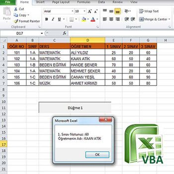 Excel ile Visual Basic Makro Programlama Video Eğitimi