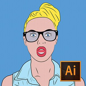 Illustrator ile Pop Art Çizim Video Eğitimi