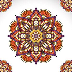 Mandala çizim Teknikleri Vidobu