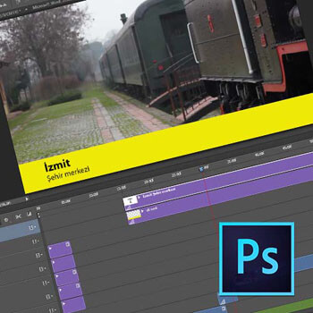 Photoshop'ta Video ve Animasyon Teknikleri Video Eğitimi